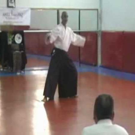 Clase de Aikido Por la Paz  -2ª Parte. Cartagena Mayo 2010